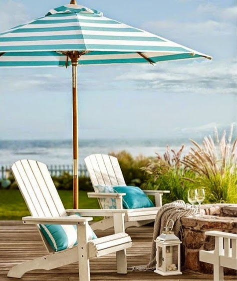 Pottery Barn Summer Cabana Stripes
