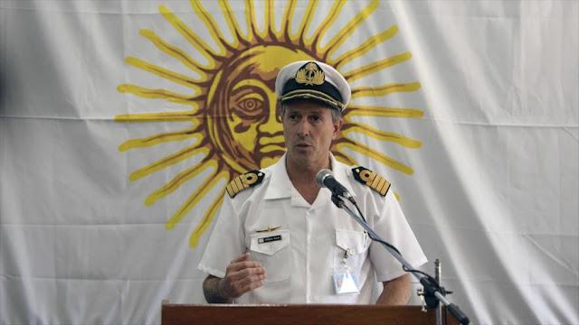 Estudian si el contacto a 477 metros es del submarino argentino