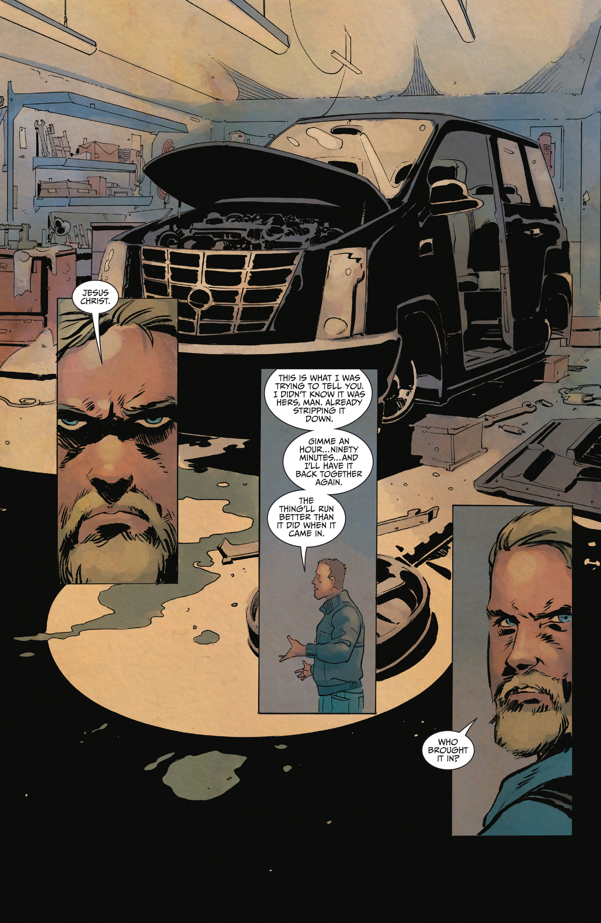 Read online Sons of Anarchy comic -  Issue #15 - 9