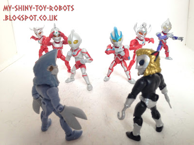 66 Action Ultraman Waves 1 and 2