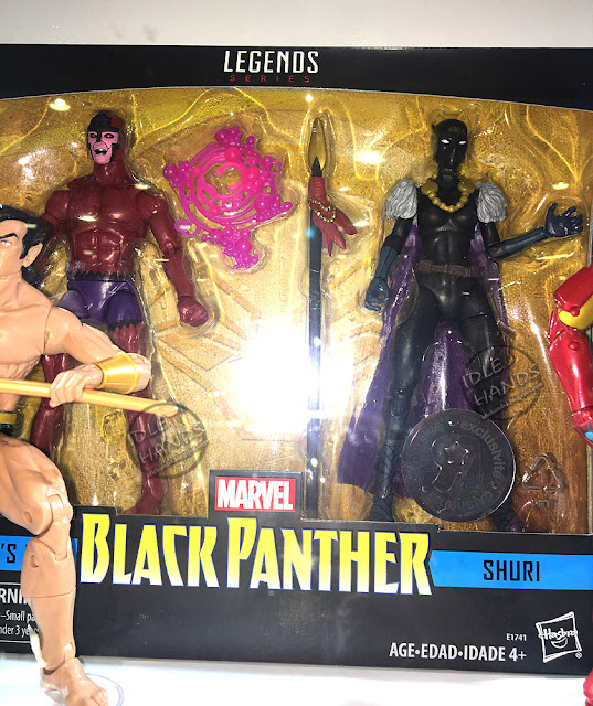 Hascon 2017 Hasbro Marvel Legends Black Panther Action Figures