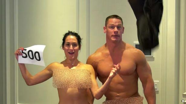 Photosvideo John Cena Joins Nikki Bella To Strip Naked -9867