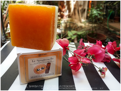 Nhemis Cosmetics - spugnoselle - arancia cannella