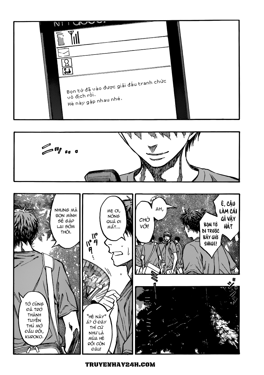 Kuroko No Basket chap 214 trang 18