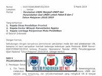 Perubahan UNBK Menjadi UNKP dam Penambahan Sesi Terbaru Tahun 2019
