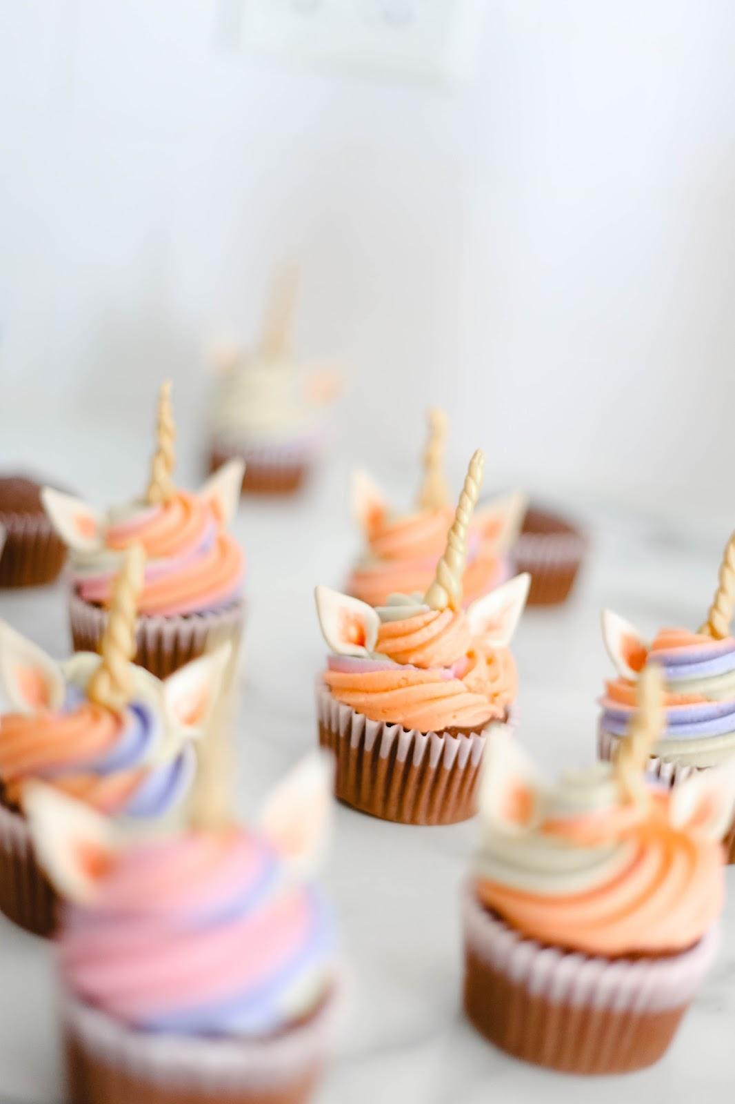 how to make unicorn cupcakes recipe