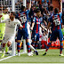 Real Madrid 1 Levante 2 Marcelo (72' minutes)  FT HT 0-2 Morales (6' minutes), Martí (13' minutes pen)