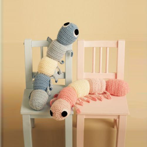 Cuddly Caterpillars - Free Pattern
