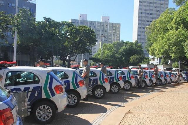 Novas viaturas reforçam a segurança em Goiás