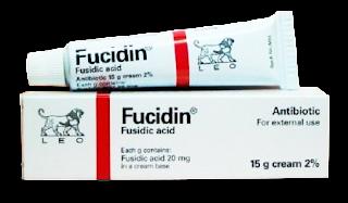 ยาแต้มสิวอักเสบ Fucidin