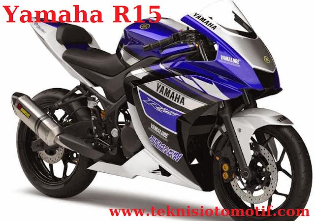 Yamaha R15 (150 CC, ± 29 Jutaan, Fairing)