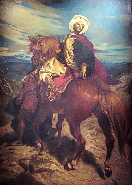 Sultan Boabdil (Muhammad XII) of Granada