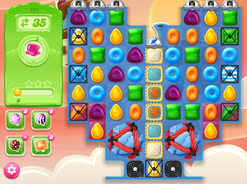 Candy Crush Jelly Saga level 711