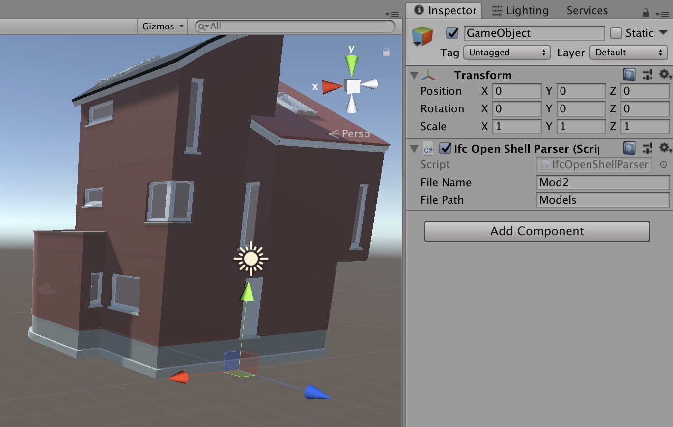 Getting BIM data into Unity (Part 9 - using IfcConvert)