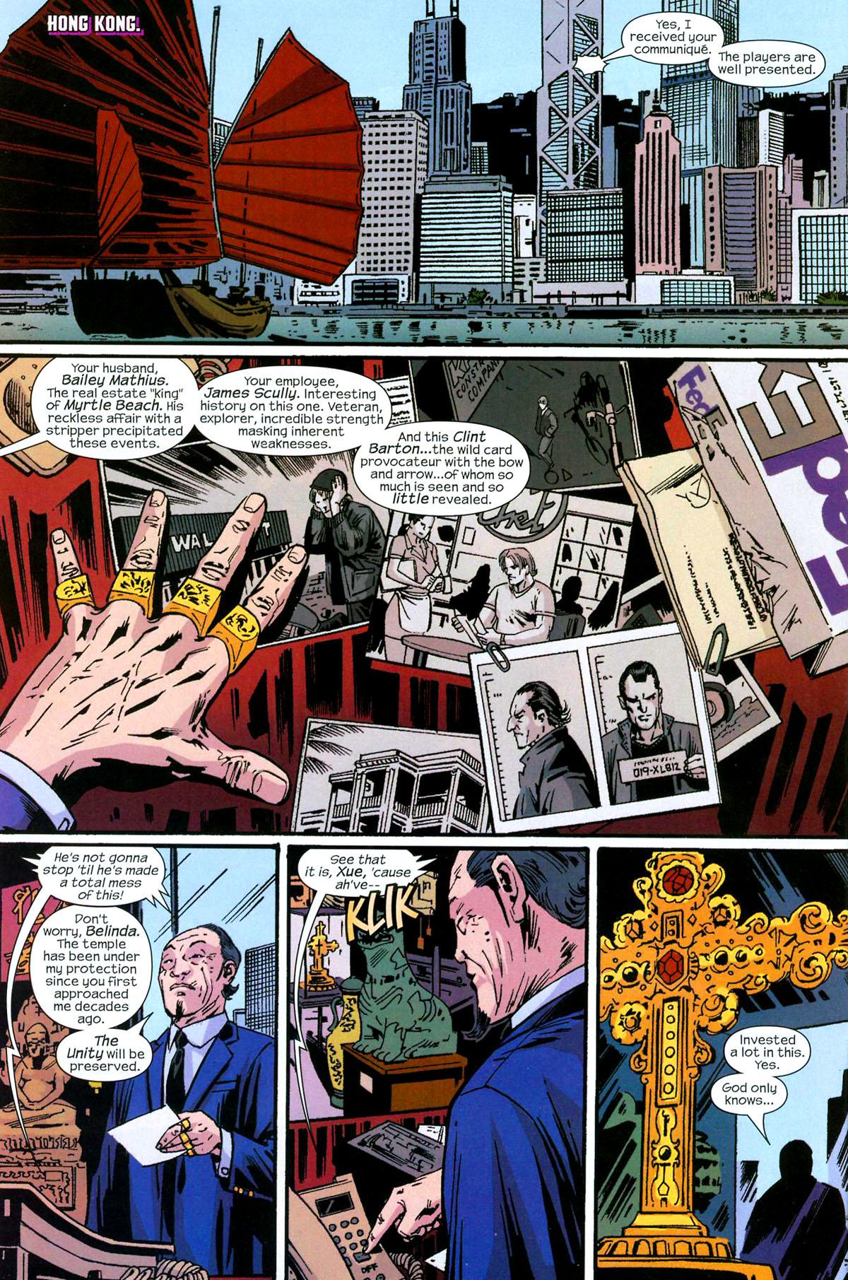 Hawkeye (2003) Issue #5 #5 - English 8