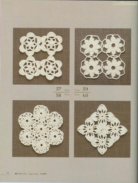 4 Minimotivos de Crochê Diferentes Com Gráfico 19