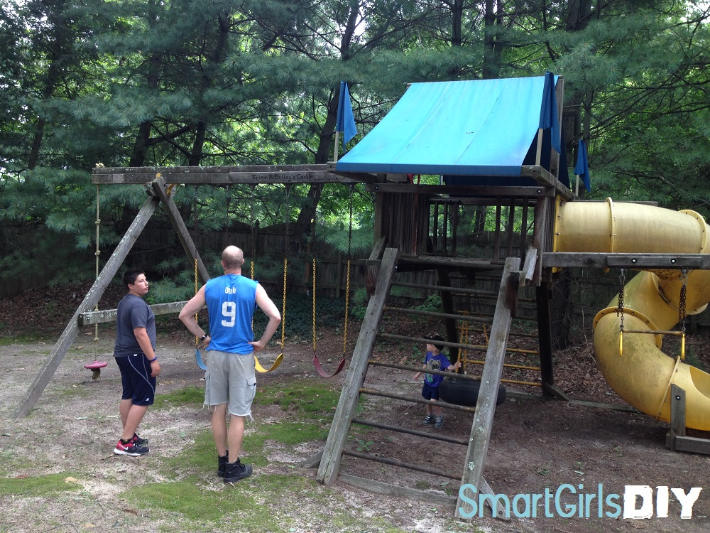 How To Buy And Move A Used Swing Set