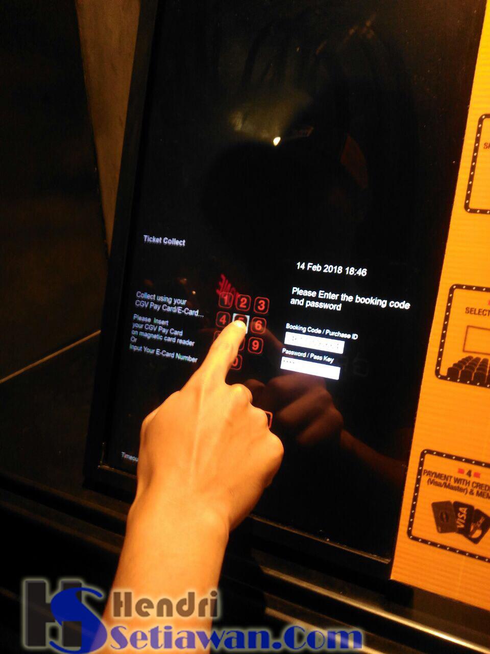 Cara Mengambil Tiket Online Di Self Ticketing Machine Cgv Blitz