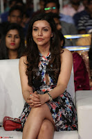 Kyra Dutta in a Deep neck Small Dress at Shamanthakamani pre release function ~  Exclusive 081.JPG