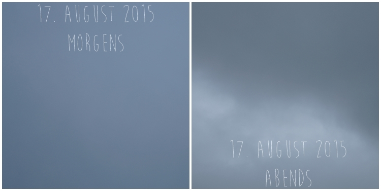 Blog & Fotografie by it's me! - Himmel am 17. August 2015