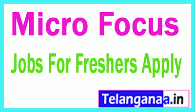 Micro Focus Recruitment Jobs For Freshers Apply