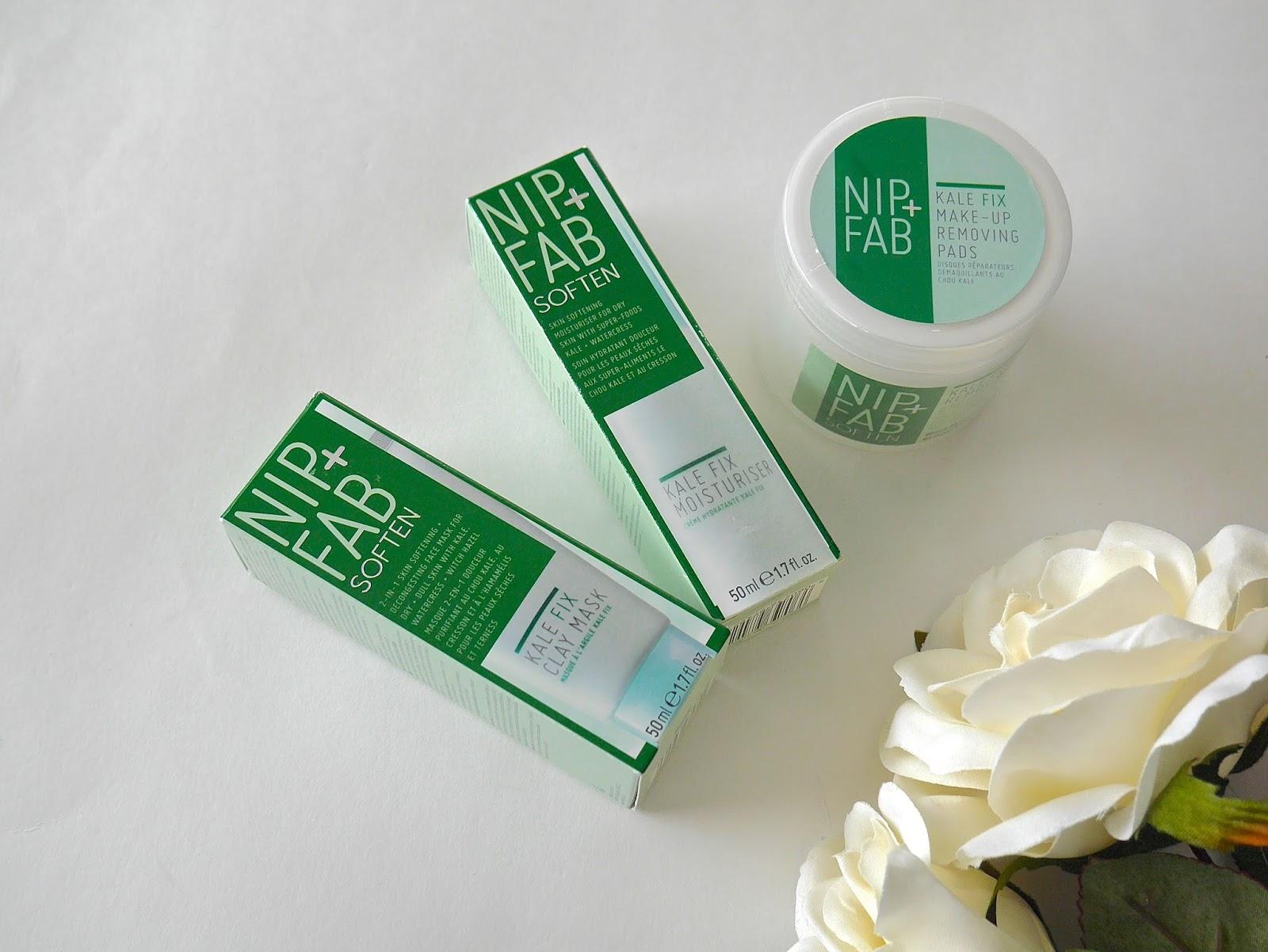 moisturizer, super food, cleansing pads, clay masks, masks, skincare, nip+fab, kale