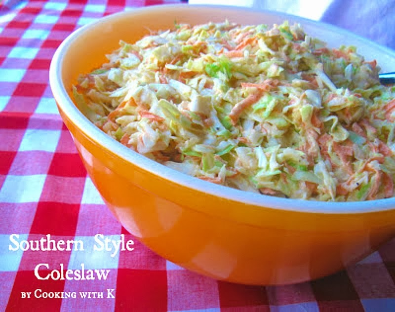 Cooking with k southern style coleslaw how to make the dressing southern style coleslaw how to make the dressing to go on it grannys recipe forumfinder Gallery