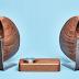 Luidsprekers van esdoorn en walnoot