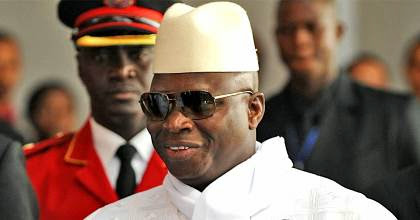 Jammeh against Europe and America