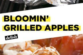 Bloomin& Grilled Apples