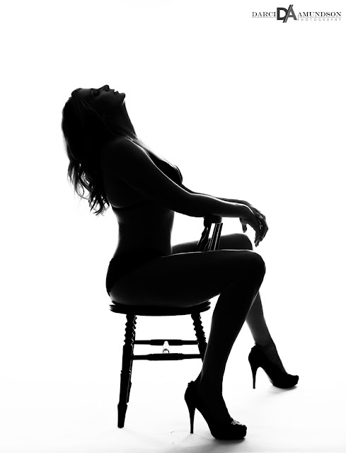 silhouette photography denver boudoir photographer