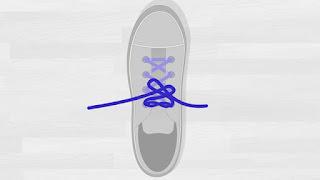 Cara Mengikat Tali Sepatu Tutorial 2