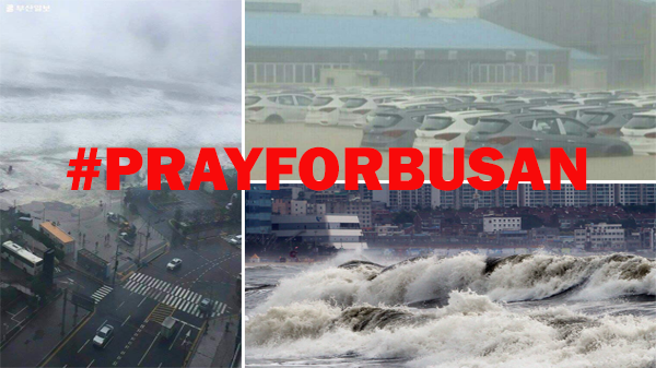 #PrayForBusan: City ravaged by Typhoon Chaba with Tsunami-like waves