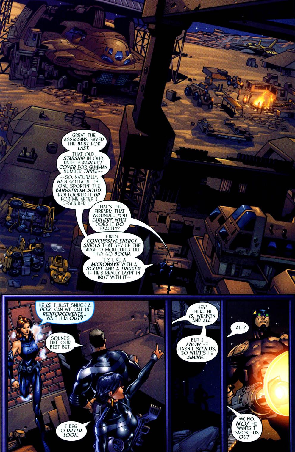 Read online Sigil (2000) comic -  Issue #12 - 16
