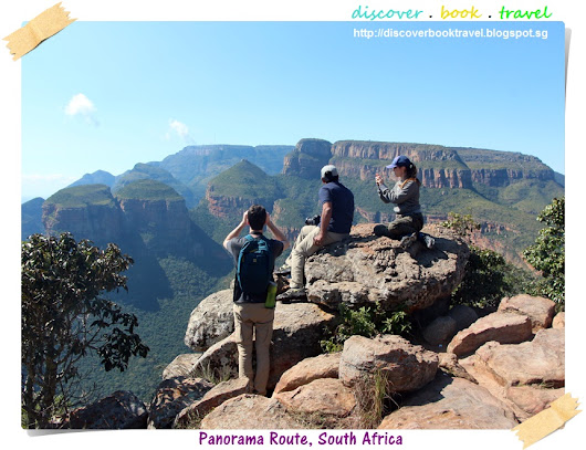 Beautiful Panorama Route drive around Blyde River Canyon in South Africa
