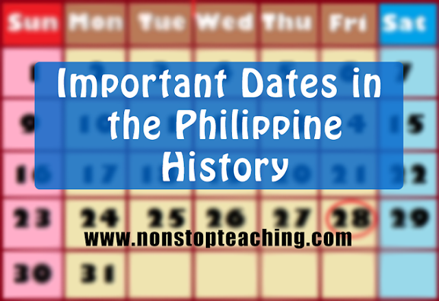 Important Dates and Events in Philippine History