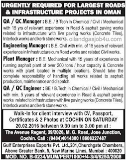 Job vacancies in Oman