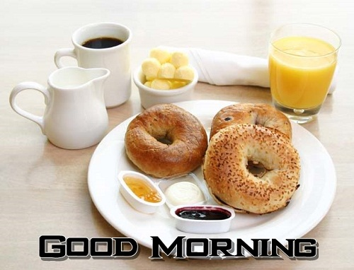 Sweet Good Morning Breakfast Picture for Whatsapp