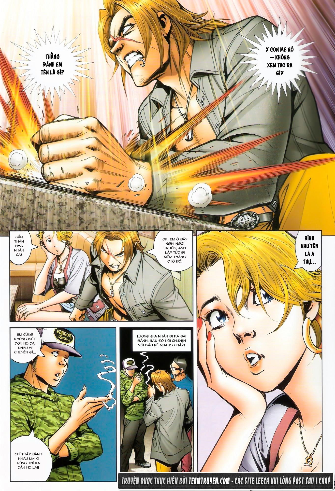 Người Trong Giang Hồ NetTruyen chap 1492 - Trang 10