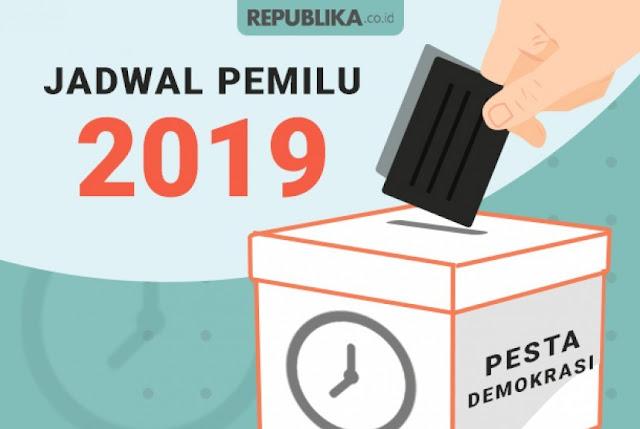 Pesta Demokrasi Dan Jadwal Pilpres 2019