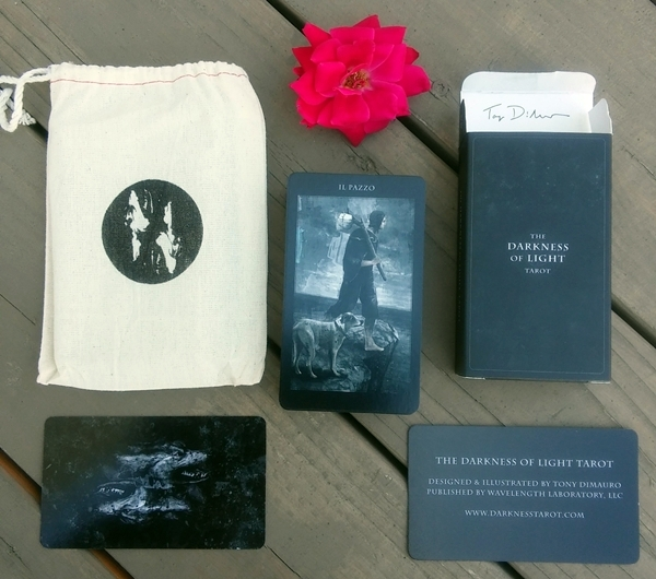 Tarot deck review the darkness of light tarot bohemianess the premise of the deck is that there is always balance between light and dark aloadofball Gallery