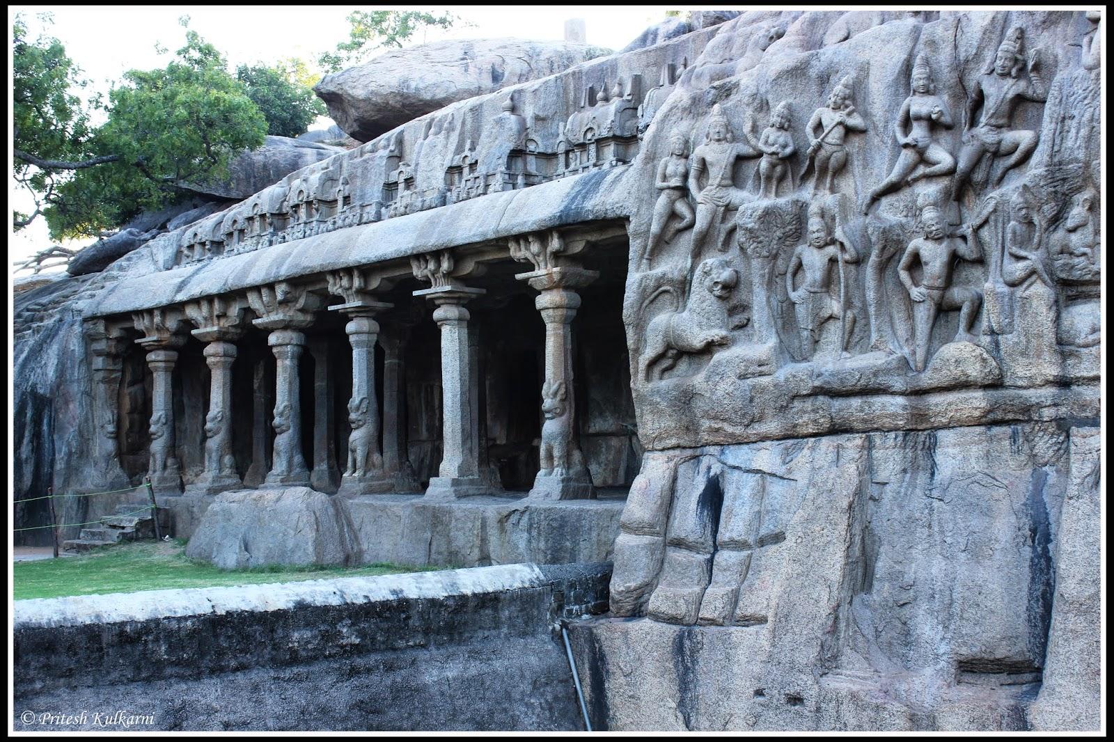 Krishna Mandapam mahabalipuram