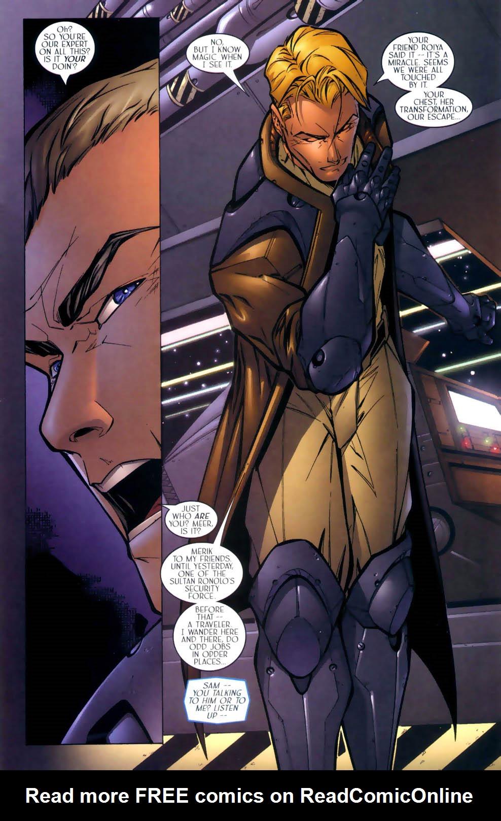 Read online Sigil (2000) comic -  Issue #2 - 10