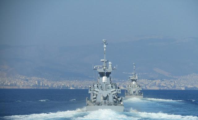 Άσκηση Παρμενίων: 55 απίθανες ΦΩΤΟ από το Πολεμικό Ναυτικό