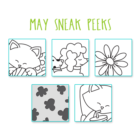 Sneak Peeks for May 2019 Products| Newton's Nook Designs #newtonsnook