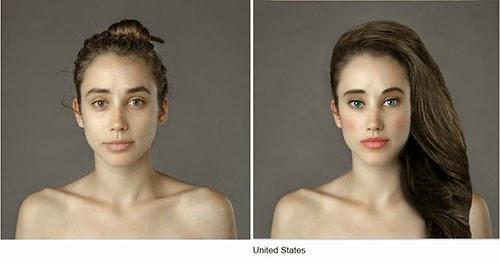 hasil photoshop wanita amerika