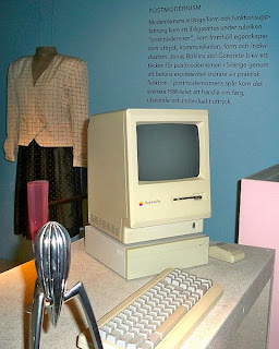 El Apple Macintosh Plus al Design Museum en Gotemburgo, Suecia.
