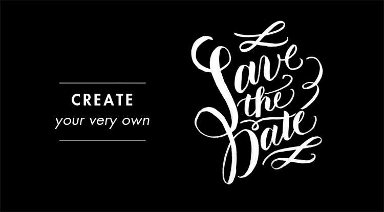 molly jacques blog DIY SAVE THE DATE
