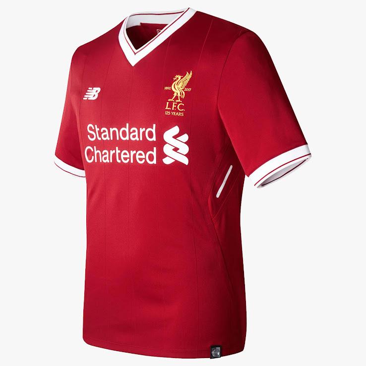 Talisman & Co.   Liverpool 2017 Home Jersey