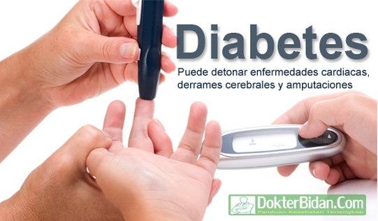 Diabetes - Gejala, Penyebab, Tipe, Pencegahan dan Pengobatan Yang Ampuh Dengan Herbal Alami dan Obat Di Apotik